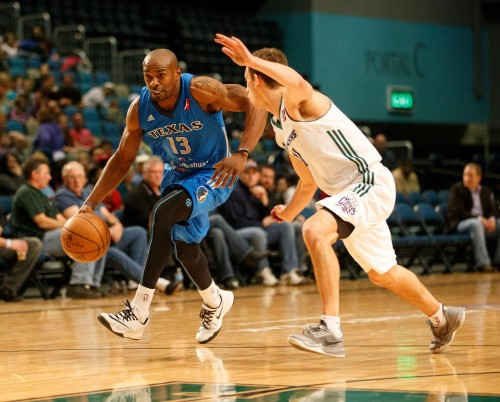 Texas Legends Guard MIKE JAMES