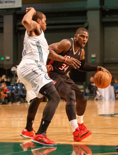 Idaho Stampede Guard JERMAINE TAYLOR