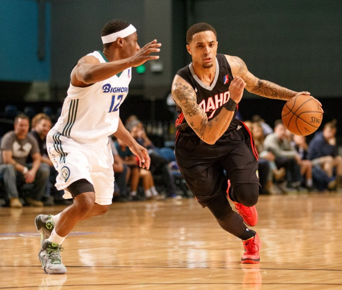 Idaho Stampede Guard BRANDON FIELDS