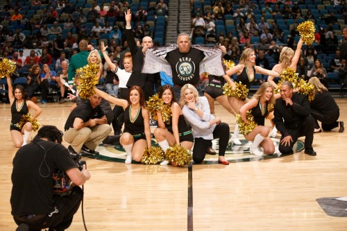 The Reno Bighorns Front Office Staff, Herb Santos Jr