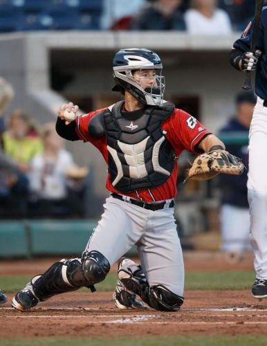 El Paso Chihuahuas Catcher JASON HAGERTY (15)
