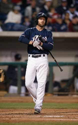 Reno Aces Shortstop DANNY WORTH (8)