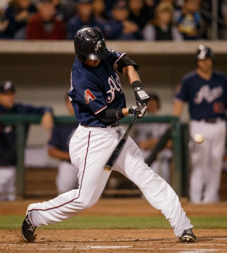 Reno Aces Right Field TODD GLAESMANN (30)