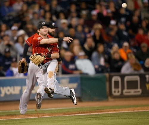 El Paso Chihuahuas 3rd Base CASEY MCELROY (8)