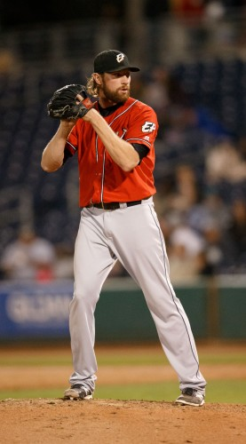 El Paso Chihuahuas Pitcher JERRY SULLIVAN (20)