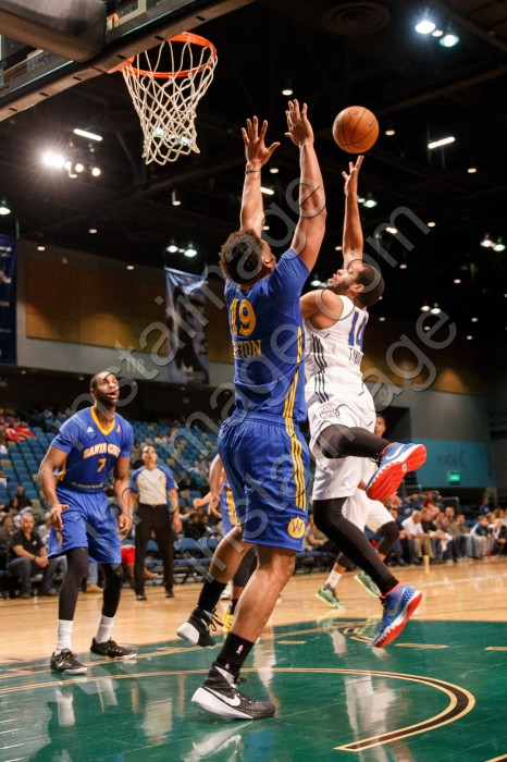 Santa Cruz Warrior Forward DANIEL ORTON (19)