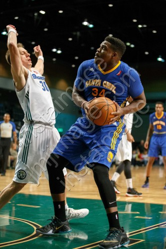 Santa Cruz Warrior Forward ANTHONY VEREEN (34)
