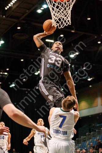 Austin Spurs Guard ORLANDO JOHNSON (33)