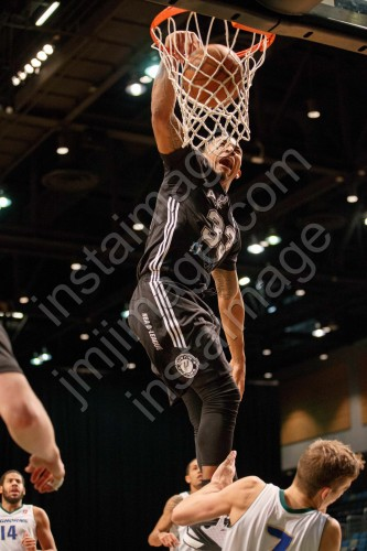 Austin Spurs Guard ORLANDO JOHNSON (33)