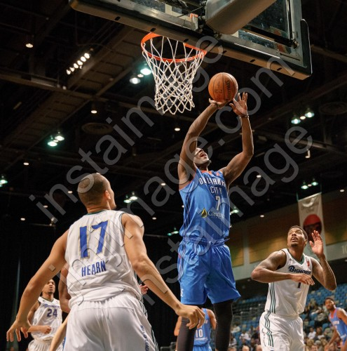 Oklahoma City Blue Forward TALIB ZANNA (7)