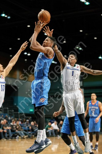 Oklahoma City Blue Forward KAMERON WOODS (31)