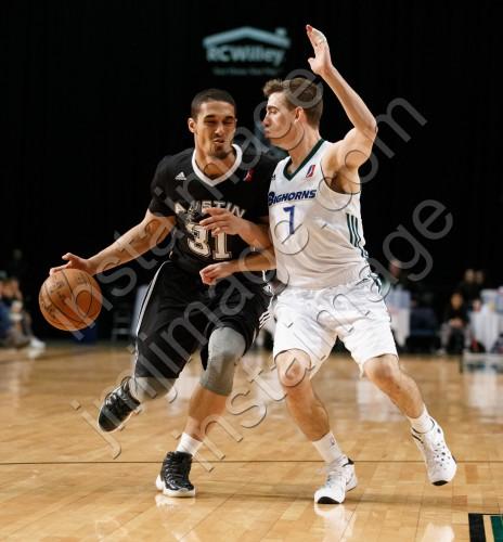 Austin Spurs Guard NICK JOHNSON (31)