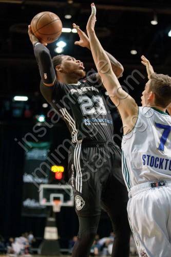 Austin Spurs Forward DESHAUN THOMAS (23)