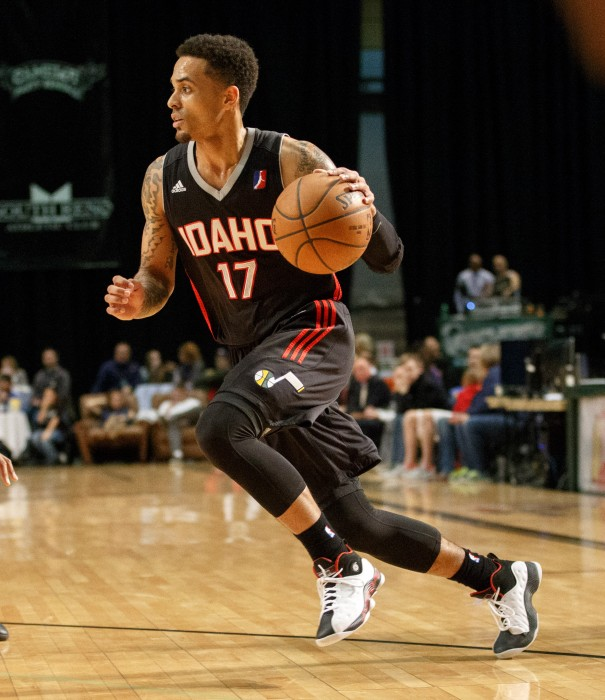 Idaho Stampede Guard BRANDON FIELDS (17)