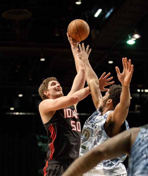 Idaho Stampede Center TIBOR PLEISS (50)