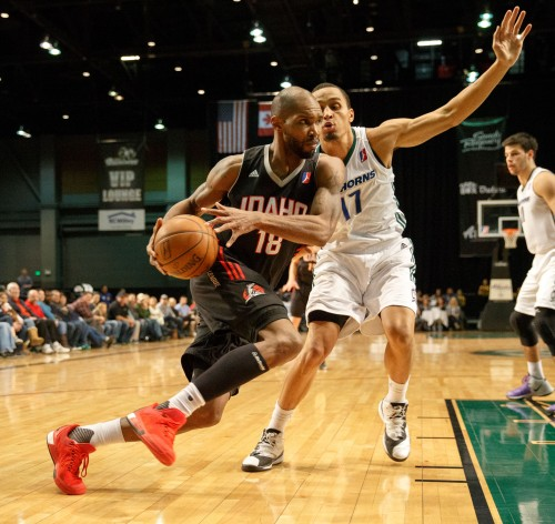 Idaho Stampede Forward JEREMY WILLIAMS (18)