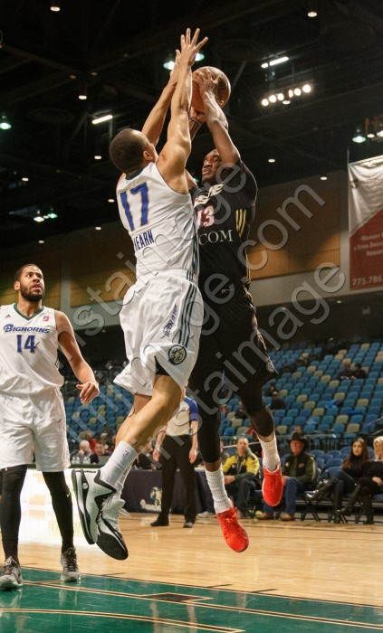 Erie BayHawk Forward AARON BOWEN (13)