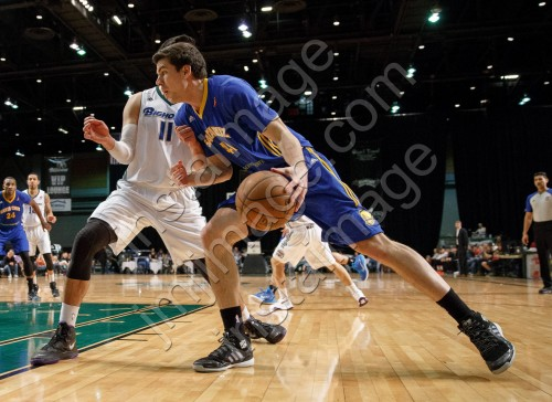 Santa Cruz Warrior Forward DANIEL COURSEY (41)