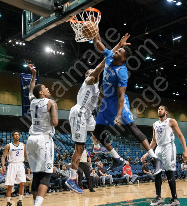 Texas Legends Center MICHAEL ERIC (50)
