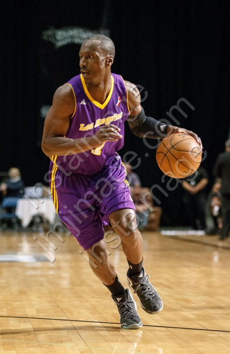 Los Angeles D-Fender Guard ANDRE INGRAM (7)