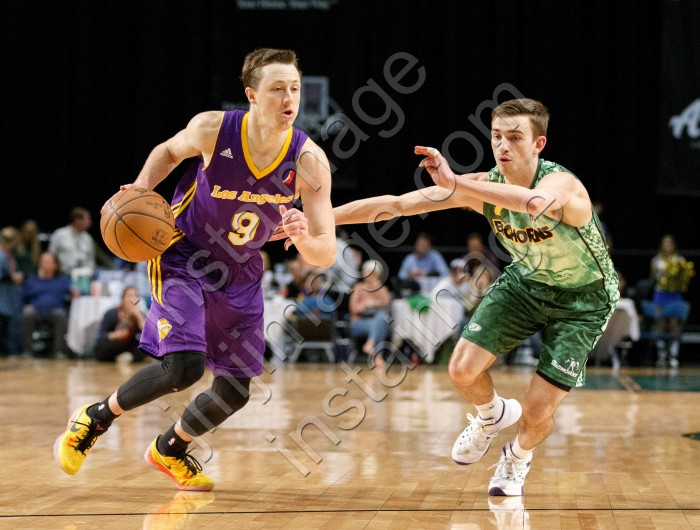Los Angeles D-Fender Guard JOSH MAGETTE (9)
