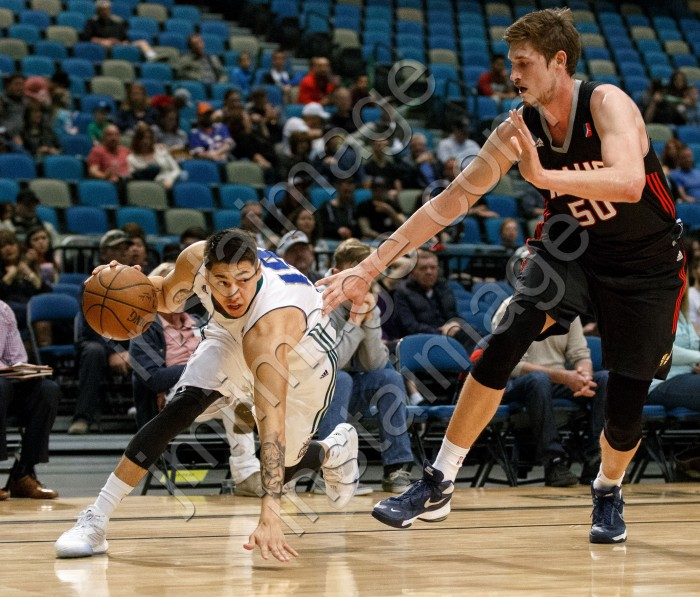 Reno Bighorn Guard LUKE MARTINEZ (19)