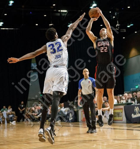 Idaho Stampede Forward JJ O'BRIEN (22)
