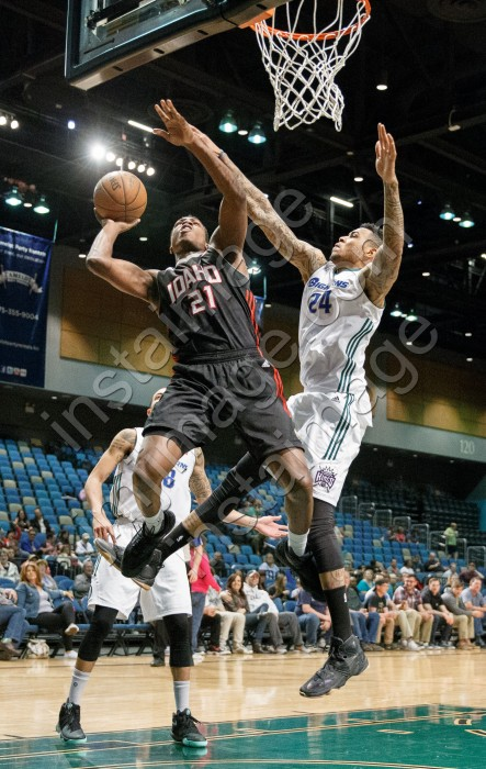 Idaho Stampede Guard TREVEON GRAHAM (21)