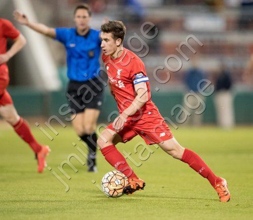 Liverpool FC U21 midfielder CAMERON BRANNIGAN (10)
