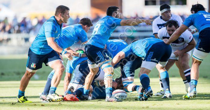 Italy Rugby's Captain EDORADO GORI (9)