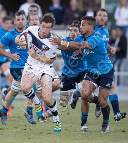 USA Rugby's AJ MACGINTY (10)
