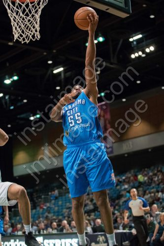 Oklahoma City Blue Forward REGGIE WILLIAMS (55)