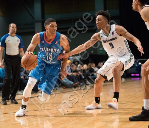 Oklahoma City Blue Forward KARRINGTON WARD (14)