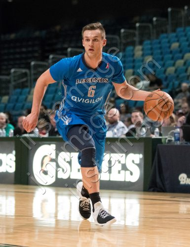 Texas Legends Guard KYLE COLLINSWORTH (6)