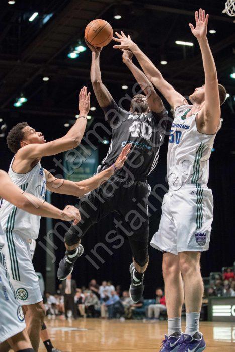 Austin Spurs Forward CORY JEFFERSON (40)