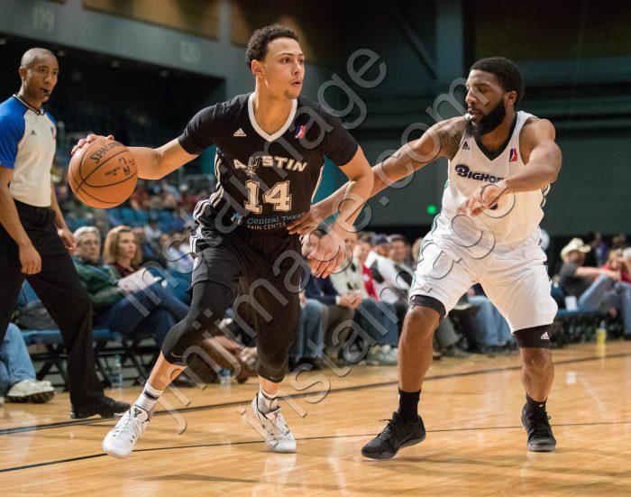 Austin Spurs Guard BRYN FORBES (14)