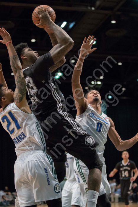 Austin Spurs Forward CHARLES GARCIA (33)