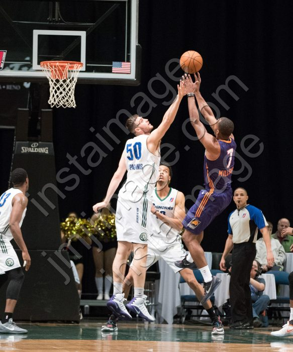 Northern Arizona Suns Guard ELIJAH MILLSAP (7)
