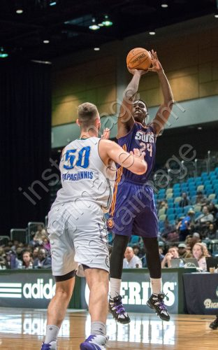 Northern Arizona Suns Forward JOHNNY O'BRYANT III (24)