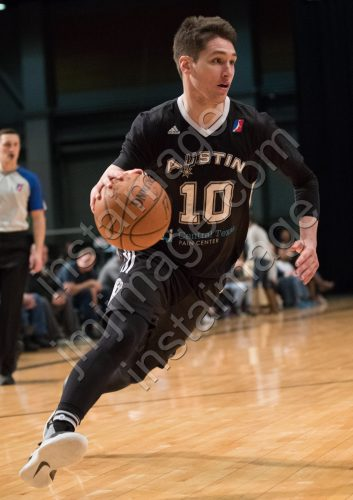 Austin Spurs Guard RYAN ARCIDIACONO (10)