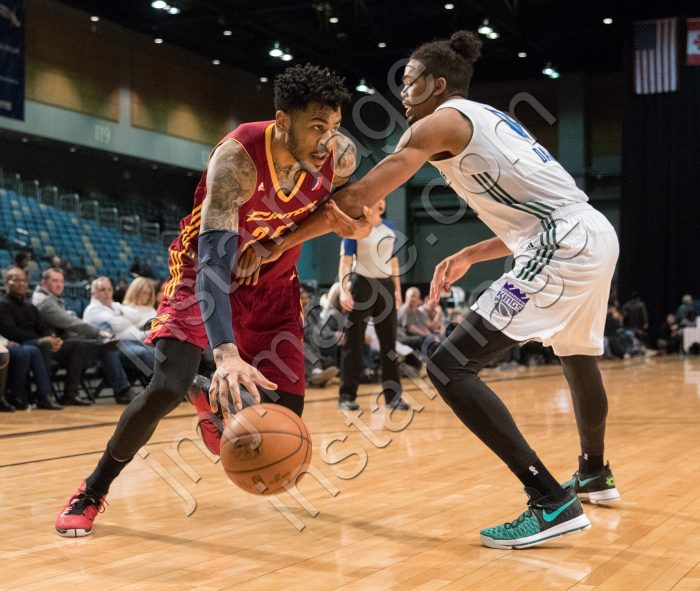 Canton Charge Forward ERIC MORELAND (25)